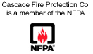 Cascade Fire Protection Co. is a member of the NFPA
